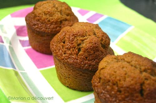 Muffins aux carambars cub's praliné
