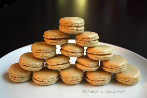 Recette de macarons au chocolat blanc