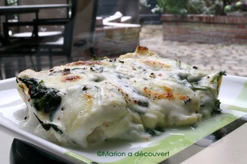Lasagnes épinards chèvre & mozzarella 100% Homemade !