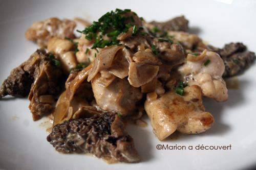 Ris de veau aux morilles recettes de cuisine de marion flipo - Cuisiner le collier de veau ...