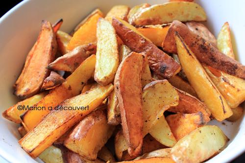 Potatoes bicolores, bien meilleures qu'au mac do!