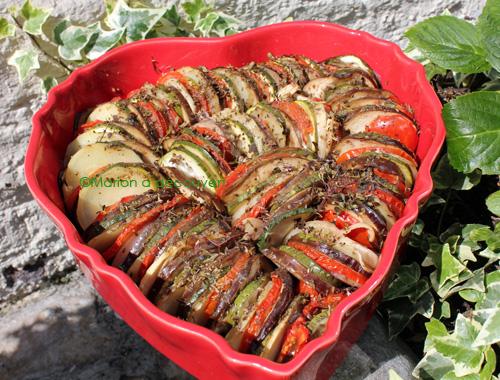Mon tian de légumes à la provençale
