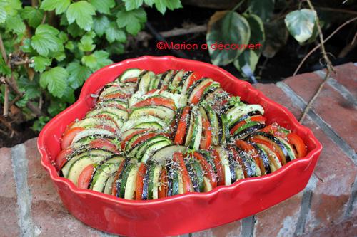 Recette de tian de légumes du soleil