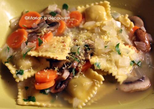 Raviolis lapin romarin fa on gremolata recettes de - Comment cuisiner des cuisses de lapin ...