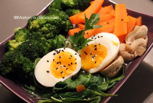 Soupe de nouilles aux légumes façon Ramen Japonais