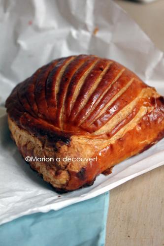 Chausson à la pomme fraiche du pain et des idées