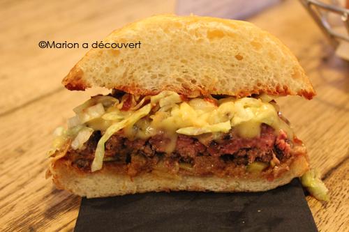 Restaurant Paris : BLEND, Burger fight final !