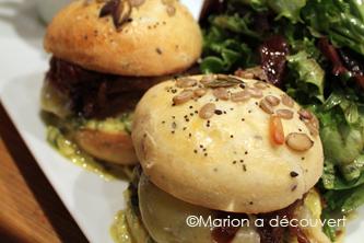 Restaurant Paris : Le comptoir de Brice, Burger fight round 3 !