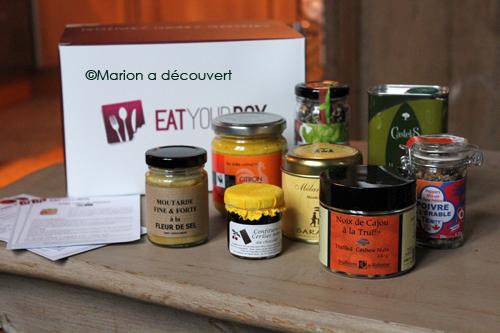 Eat your box, la gourmandise vient à vous !