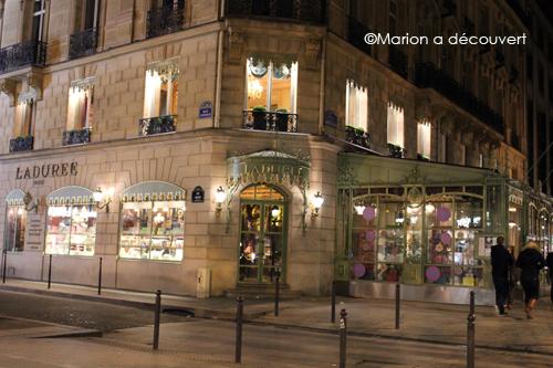 Restaurant Paris : LaDurée Champs Elysées, la renaissance du phénix…