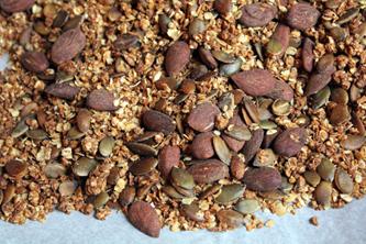 Granola bio aux graines et sirop d'érable pour un début d'année plein de bonne énergie !