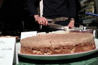 Trianon speculoos, praliné et noisette… Improvisation pâtissière pour bien commencer 2013 !