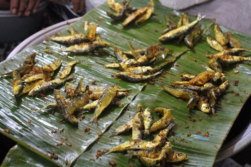 friture poisson marché