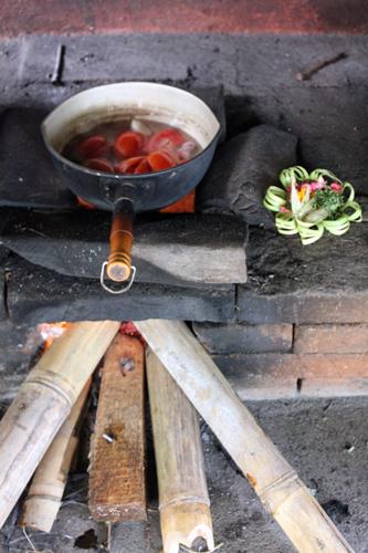 tomates sur feu