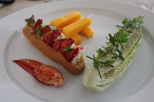 Restaurant Paris : Rech, le lobster roll version Alain Ducasse
