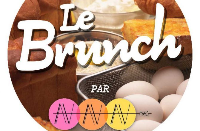 Let's eat, enjoy and meet ! Rdv au Brunch AV Mag ce dimanche !