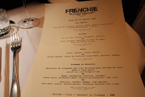 Restaurant Paris : Frenchie, la table que l'on s'arrache encore !