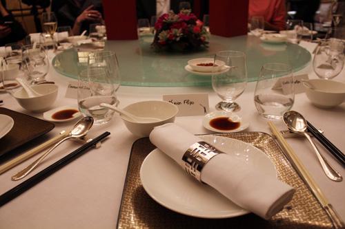 Hong Kong à la table du Shangri-La cette semaine…