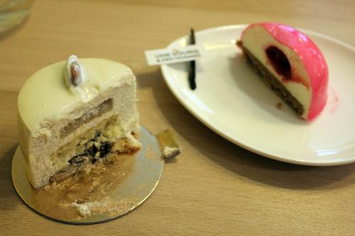 inside cakes