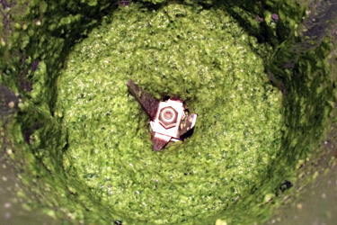 Homemade pesto, oh YES !