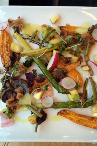 legumes plancha
