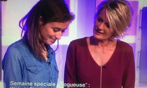 Nouvelle parution télé avec Sophie Davant sur «C'est au programme» !