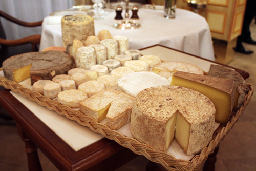 plateau fromages bocuse