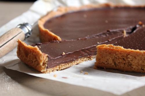On craque pour la tarte au chocolat façon Christian Constant