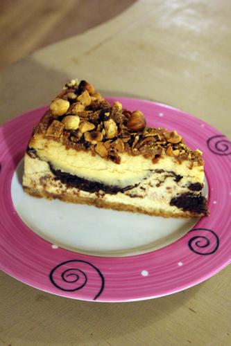 berko cheesecake praliné