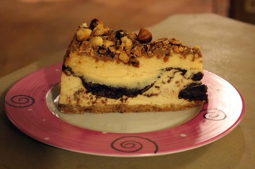 Cheesecake au praliné de chez Berko