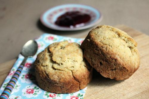 Scones au sucre muscovado pour THE british teatime !
