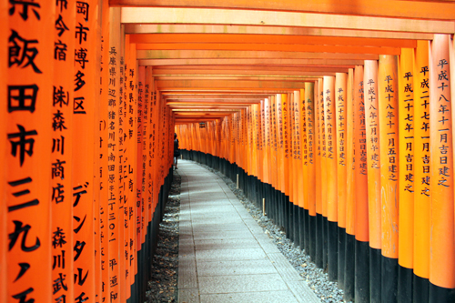 Kyoto, véritable centre culturel du pays…