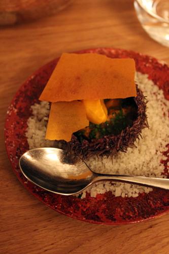 oursin dashi carotte