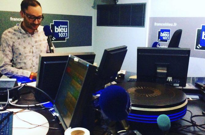 Presse : Podcast de l'émission «On cuisine ensemble» sur la Radio France Bleu !