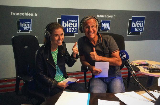 Presse : Podcast de l'émission « On cuisine ensemble » sur la Radio France Bleu ! 2ème passage.