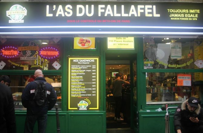 L'As du fallafel, la pita que Paris s'arrache…