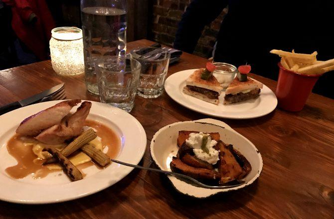 Chop Shop à Londres : du réconfort dans l'assiette, une bonne bière et de l'ambiance !