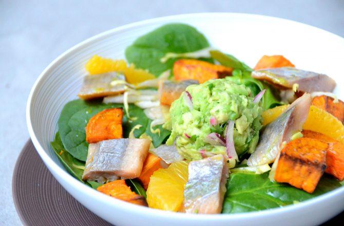 Salade détox à tout plein de trucs !