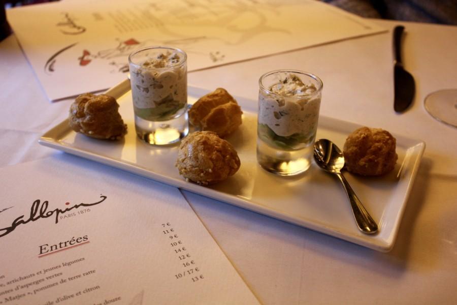 Restaurant Paris : Le Gallopin, une brasserie tradi mais pas tratra.