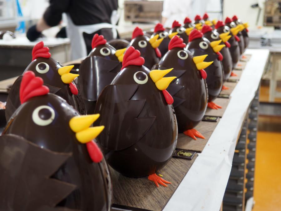 À la Mère de Famille, l'institution du chocolat à Paris.