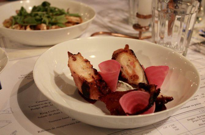 Restaurant Paris : Le Fish Club, Acte 2.