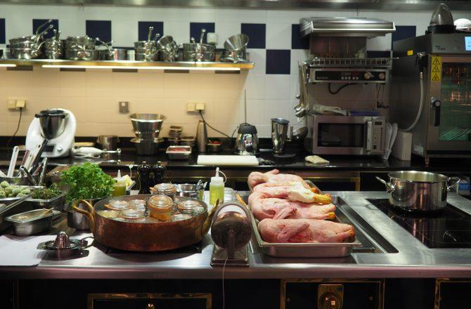 Cours de cuisine au Ritz ou la réalisation d'un rêve d'enfant… 2 recettes de grand chef à la clé !