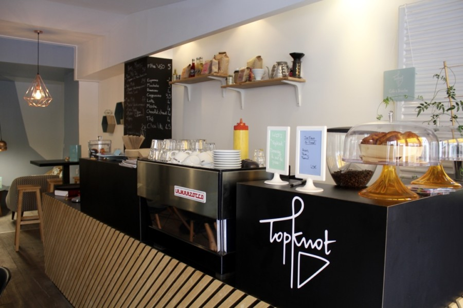 Restaurant Paris : cure de brioches chez Topknot café