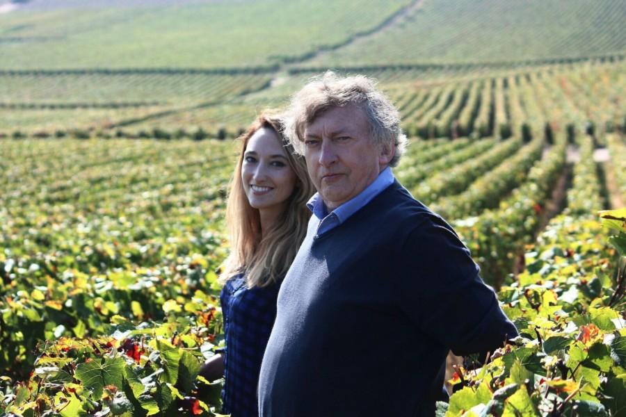 Coup de coeur pour les champagnes Lucien Collard…