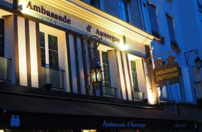 L'Auvergne est à Paris et c'est à l'ambassade !