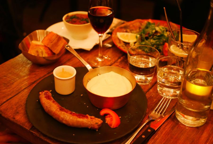 Restaurant Le Trésor à Paris, le buron rococo !