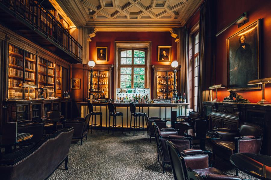 Le Bar de l'Hôtel Saint James tel un écrin de luxe…