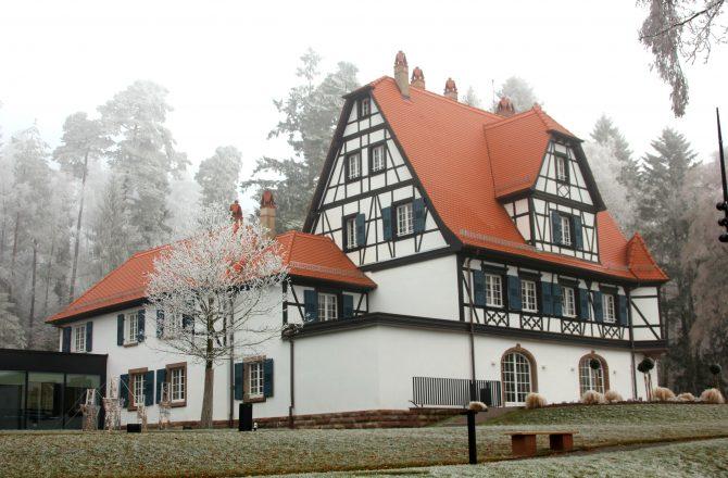 Escapade en Alsace acte 5, La Villa René Lalique époustouflante.
