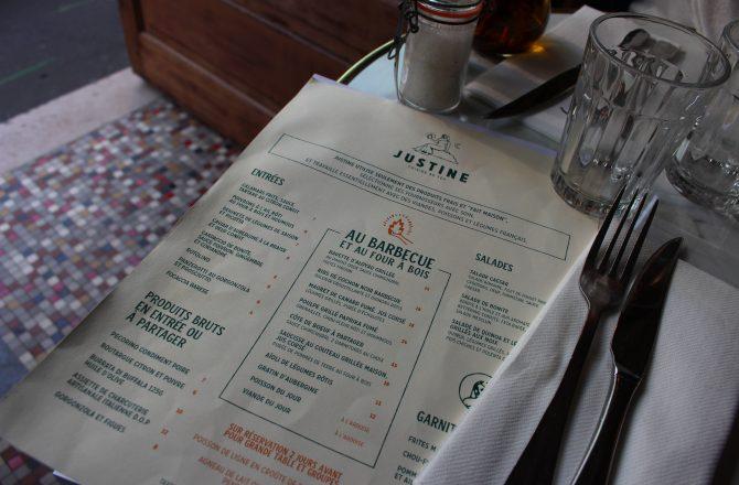 Restaurant Paris : Justine, le feu c'est la vie à Oberkampf