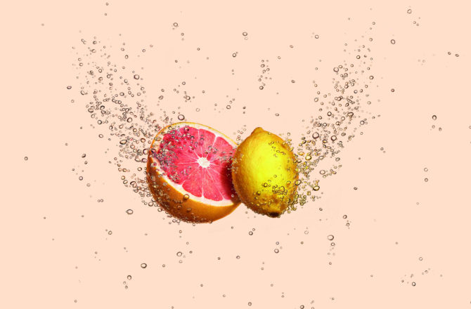Badoit lance Bulles de fruits